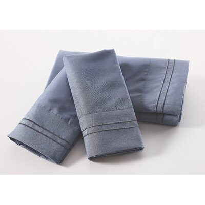 Lazenby 100 GSM Microfiber Sheet Set Size: King, Color: Blue