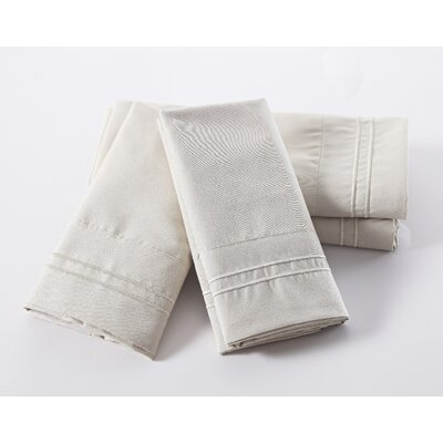 Lazenby 100 GSM Microfiber Sheet Set Size: Queen, Color: Linen