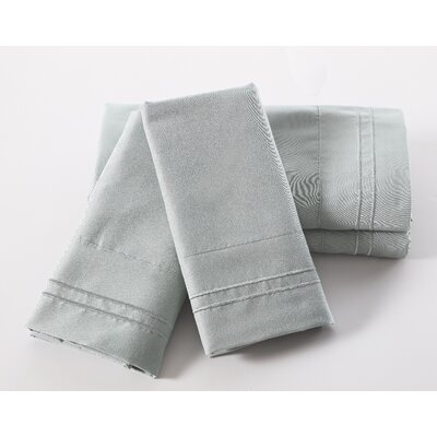 Lazenby 100 GSM Microfiber Sheet Set Size: Full, Color: Sage Green