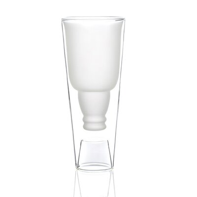 Porona-Catron 18 oz. Frosted Double Wall Glass WPC1900-X2