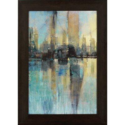 Skyline Framed Painting Print
