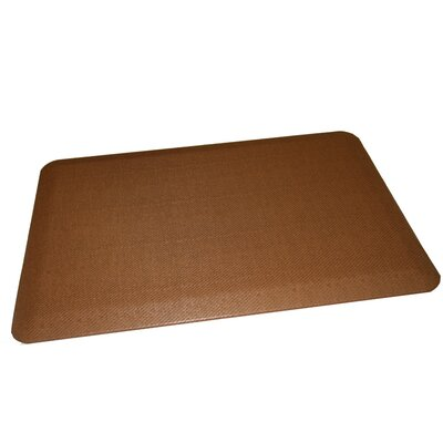 Anti-Fatigue Comfort Kitchen Mat Rug Size: 2 x 4, Color: Medium Brown