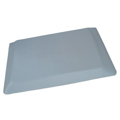Hide Anti-Fatigue Comfort Kitchen Mat Mat Size: 2 x 6, Color: Glossy Gray