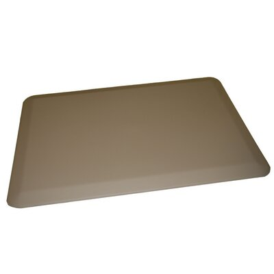 Anti-Fatigue Comfort Kitchen Mat Mat Size: 2 x 4, Color: Light Gray