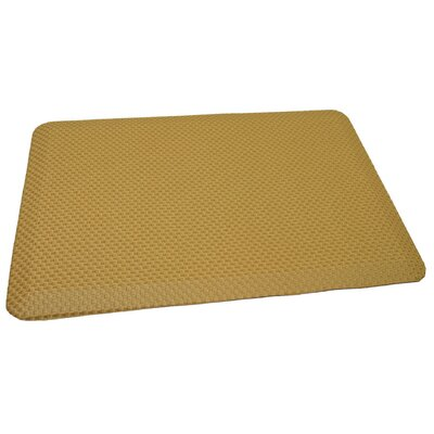 Anti-Fatigue Comfort Kitchen Mat Mat Size: 2 x 3, Color: Rich Light Tanned