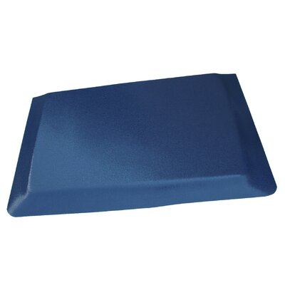 Hide Anti-Fatigue Comfort Kitchen Mat Rug Size: 2 x 8, Color: Glossy Blue