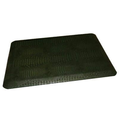 Anti-Fatigue Comfort Kitchen Mat Rug Size: 2' x 4', Color: Emerald Green