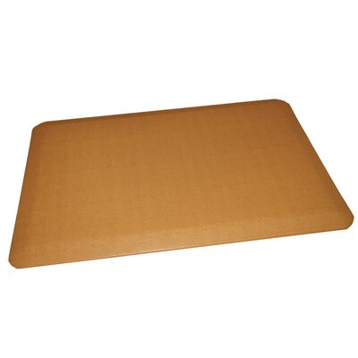 Anti-Fatigue Comfort Kitchen Mat Rug Size: 2 x 4, Color: Light Beige