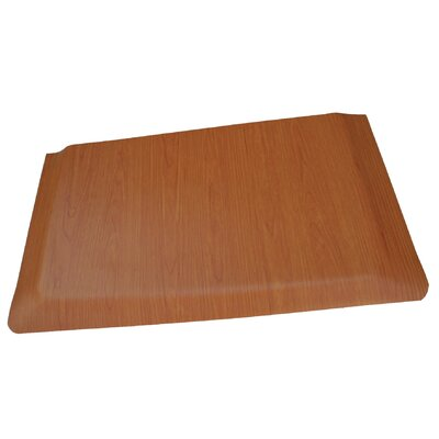 Soft Woods Anti-Fatigue Comfort Kitchen Mat Mat Size: 2 x 8, Color: Light Brown