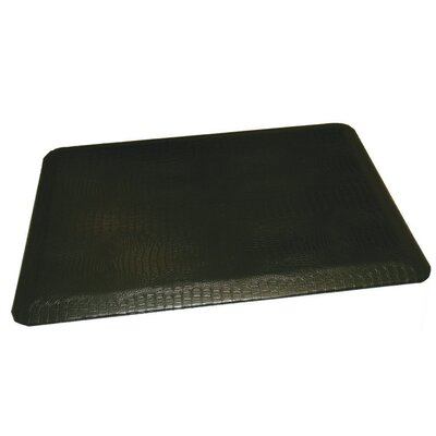 Anti-Fatigue Comfort Kitchen Mat Rug Size: 2 x 4, Color: Matte Black