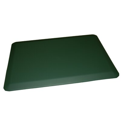 Anti-Fatigue Comfort Kitchen Mat Color: Forest Green, Rug Size: 2 x 4