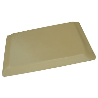 Hide Anti-Fatigue Comfort Kitchen Mat Mat Size: 2 x 3, Color: Glossy Tan