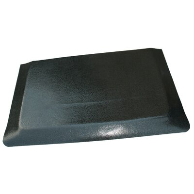 Hide Anti-Fatigue Comfort Kitchen Mat Mat Size: 2 x 8, Color: Glossy Black