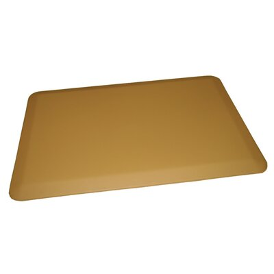 Anti-Fatigue Comfort Kitchen Mat Mat Size: 2 x 4, Color: Light Tan