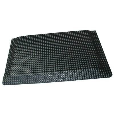 Relfex Anti-Fatigue Comfort Kitchen Mat Color: Glossy Black, Rug Size: 2 x 6