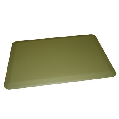 Anti-Fatigue Comfort Kitchen Mat Rug Size: 2 x 4, Color: Soft Green