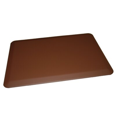 Anti-Fatigue Comfort Kitchen Mat Rug Size: 2 x 4, Color: Brown