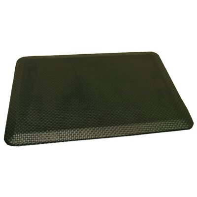 Anti-Fatigue Comfort Kitchen Mat Rug Size: 2 x 4, Color: Slightly Glossy Black