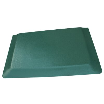 Hide Anti-Fatigue Comfort Kitchen Mat Mat Size: 2 x 8, Color: Glossy Green