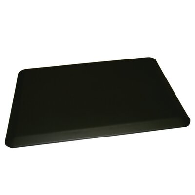 Anti-Fatigue Comfort Kitchen Mat Mat Size: 2 x 4, Color: Black