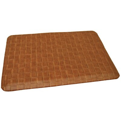 Anti-Fatigue Comfort Kitchen Mat Mat Size: 2 x 3, Color: Traditional Tanned