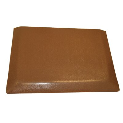 Hide Anti-Fatigue Comfort Kitchen Mat Mat Size: 2 x 3, Color: Glossy Brown