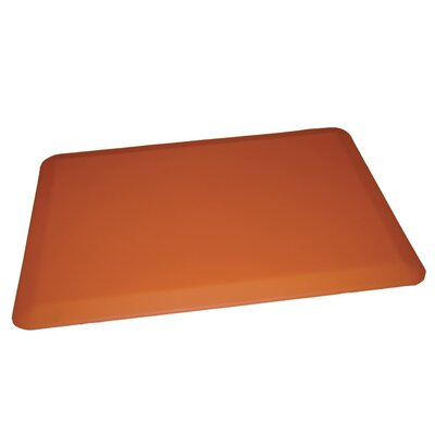 Anti-Fatigue Comfort Kitchen Mat Rug Size: 2 x 4, Color: Orange