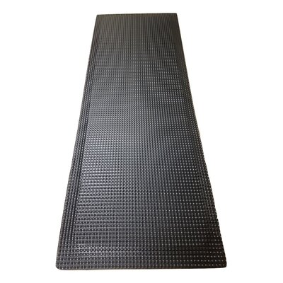 Relfex Anti-Fatigue Comfort Kitchen Mat Rug Size: 2 x 6, Color: Matte Black