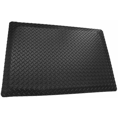 Diamond Plate Double Sponged Utility Mat Mat Size: 2 x 6