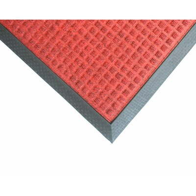Kettner Doormat Mat Size: Rectangle 4 x 6, Color: Red