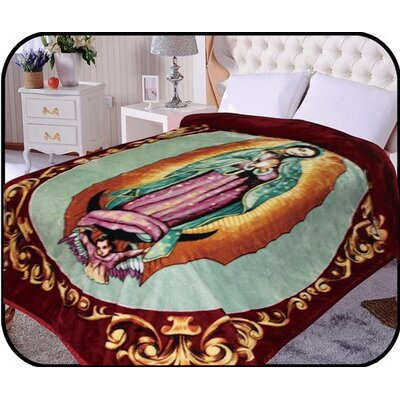 Hiyoko Holymother Virgin Mary Mink Blanket
