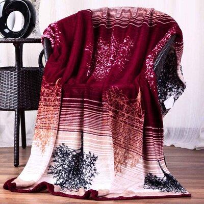 Hiyoko Floral Ultra Plush Flannel Throw Blanket
