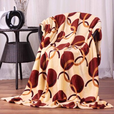 Hiyoko Floral Ultra Plush Flannel Throw Blanket