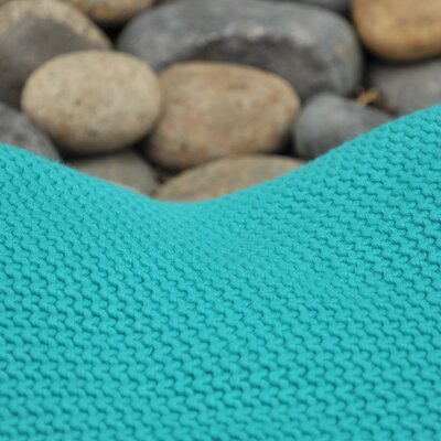 Varna Throw Blanket Color: Blue