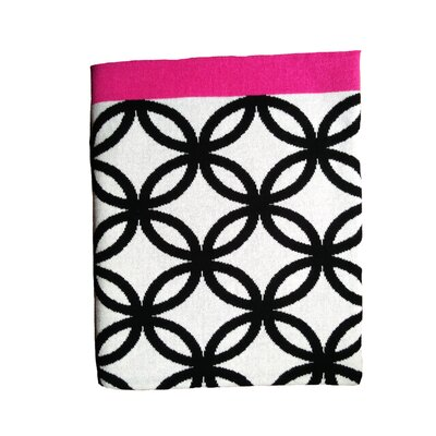 Barger Tangled Barger Luxury Cotton Throw Blanket