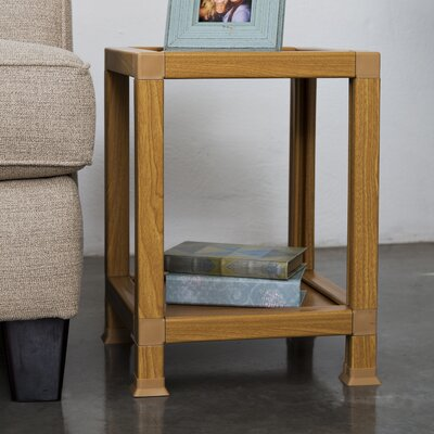 Diederich End Table Color: Oak