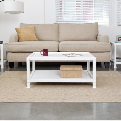 Diederich Coffee Table Color: White