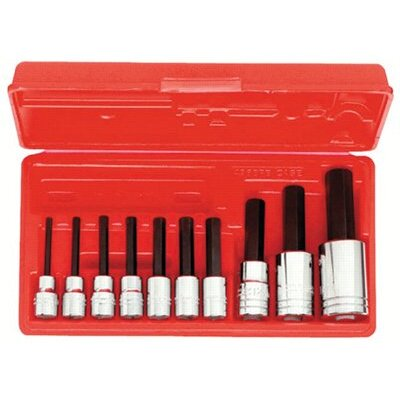 proto 10 Pc. Hex Bit Socket Sets - 10-pc. 3/8-1/2dr. metric at Sears.com