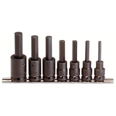 proto 7 Pc. Hex Bit Impact Socket Sets - set skt impact 1/2 dr 7p at Sears.com