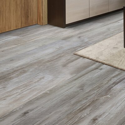 12 x 36 x 8.3mm Vinyl Tile in Barrel Gray
