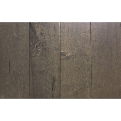 7.5 Engineered Maple Hardwood Flooring in River Stone