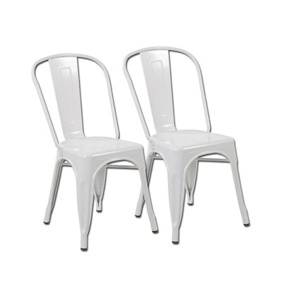 Side Chair Color: Matte White