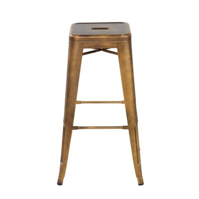 26.4 Bar Stool Finish: Antique Copper