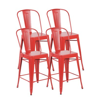 Dining Chair Finish: Matte Red