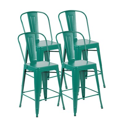 Dining Chair Finish: Matte Green