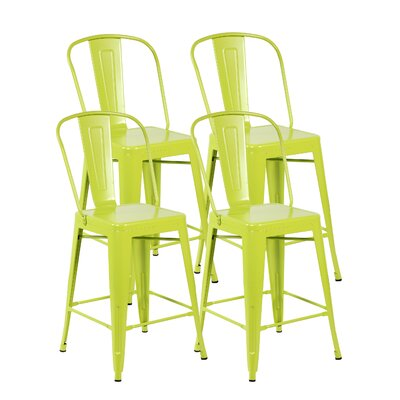 Counter Height Side Chair Finish: Matte Apple Green