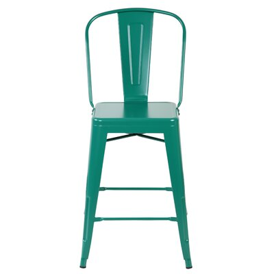 Dining Chair Color: Matte Green