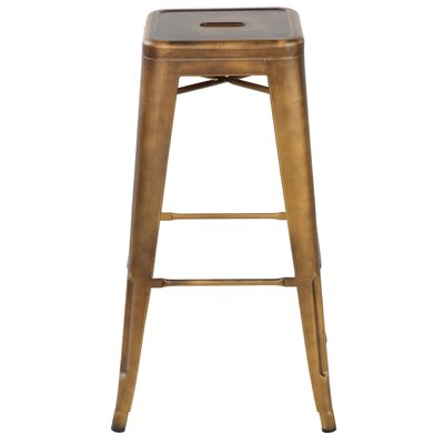 Gerrard 26.4 Dining Bar Stool Finish: Antique Copper
