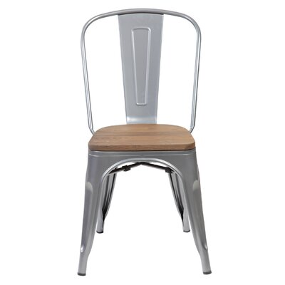 Janeen 33.5 Bar stool Finish: Matte Silver