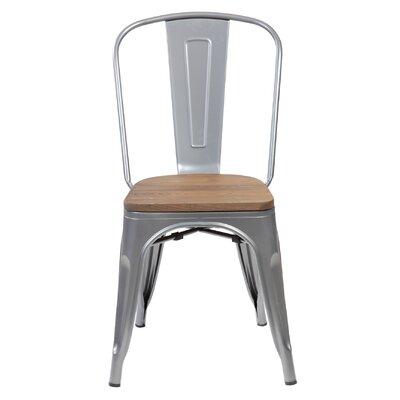 Janeen 33.5 Bar stool Finish: Matte Silver